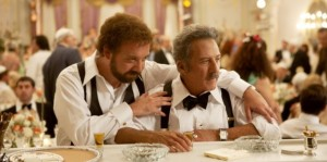 """Paul Giamatti e Dustin Hoffman nel film """"La versione di Barney"""""""