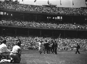 Il baseball alle Olimpiadi di Melbourne (copyright State of Victoria, Australia)
