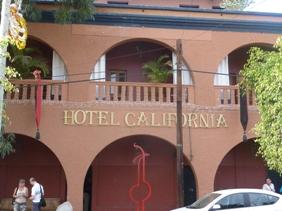 L'hotel California a Todos Santos