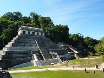 Il Tempio de Los Inscripciones a Palenque