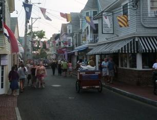 La via principale di Provincetown
