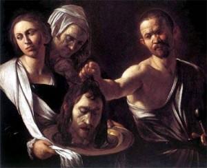 Una delle tante immagini del Martirio di San Giovanni