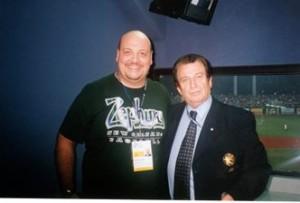 Con Aldo Notati al Mondiale IBAF 2001