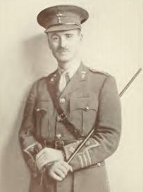 John Henry Patterson al suo arrivo a Tsavo