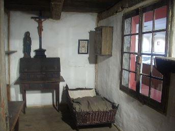 La stanza di Suor Emmerich a Duelmen