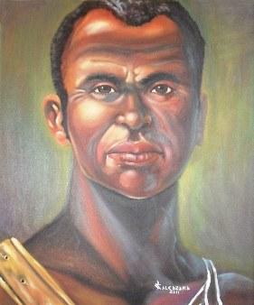 Zumbi Dos Palmares visto da un pittore