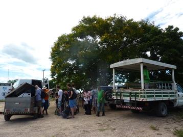 L'arrivo nel Pantanal