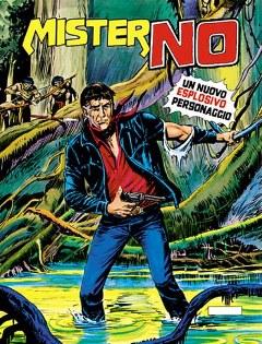 """La copertina del primo numero di """"Mister No"""""""