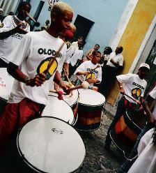 I percussionisti di Olodum