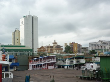 Il porto flottante di Manaus