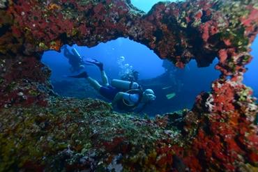 In  immersione a Pedras Secas