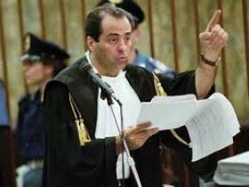 Antonio Di Pietro in aula