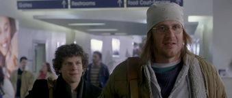 "Segel/Wallace seguito da Lipsky/Jesse Eisenberg in ""The end of the tour"""