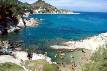 La spiaggia di Cotoncello, Isola d'Elba