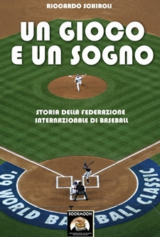La copertina dell'e-book sulla storia del baseball internazionale