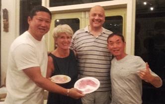 Big Man (a sinistra) e The Doctor ci offrono il loro Sashimi