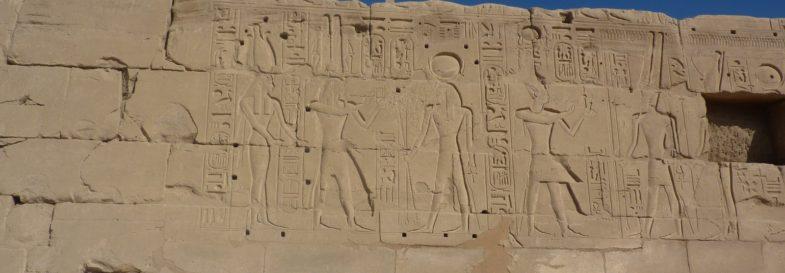 geroglifico tempio karkan luzor
